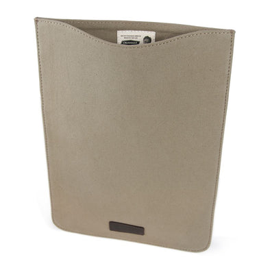 Canvas Laptop Case HHPLIFT Taupe