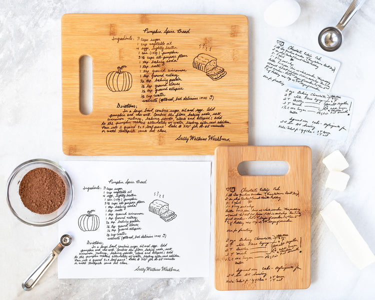 How Do We Make Our Recipe Cutting Boards?