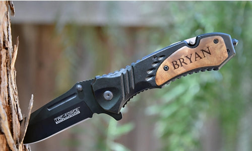 Engraved Pocket Knife-Six More Ways You Can Use Your Pocket Knife!