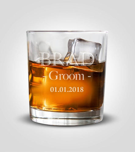 Rocks Glass | Groom