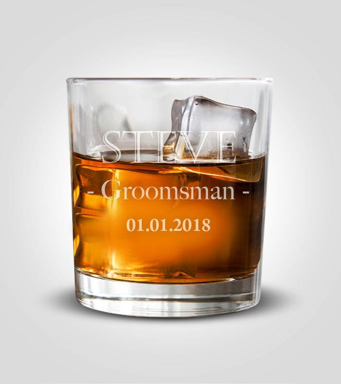 Rocks Glass | Groomsman