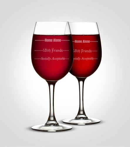 Wine Glasses | Socially Acceptable