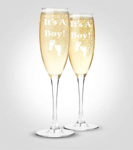 Champagne Flutes | Baby