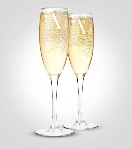 Champagne Flutes | Couples