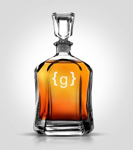 Flat Decanter | Style 6