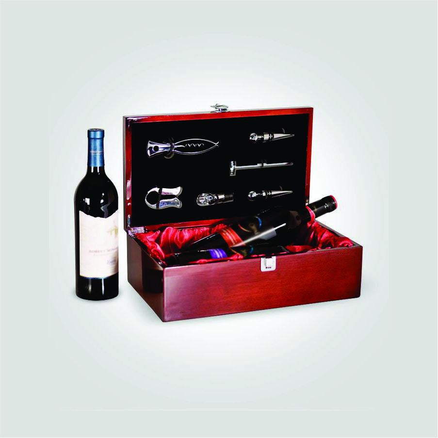 Double Piano Wine Box | CUSTOM IMAGE