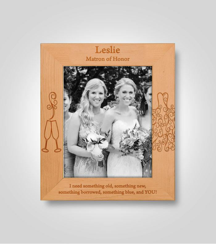 Bridal Party Frame | Vertical