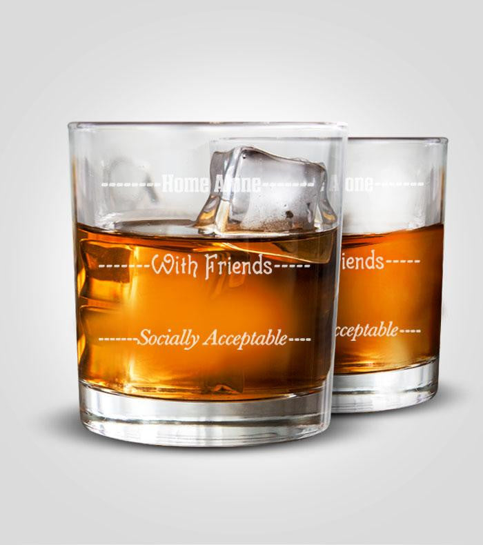 Rocks Glasses | Socially Acceptable