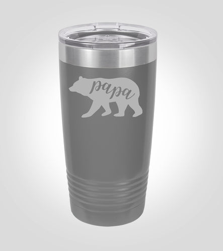 Polar 20oz. Tumbler | Papa Bear
