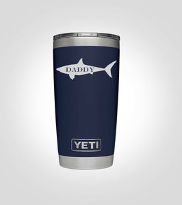 Yeti 20oz. Tumbler | Daddy Shark