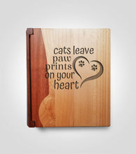 Load image into Gallery viewer, Rosewood Photo Album | Cat Paws