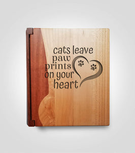 Rosewood Photo Album | Cat Paws