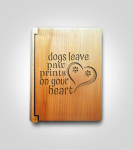 Mini Photo Album | Dog Paws
