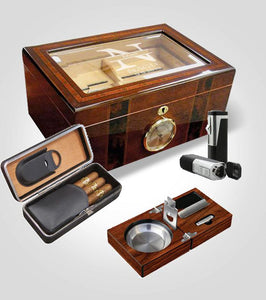 Executive Humidor Bundle
