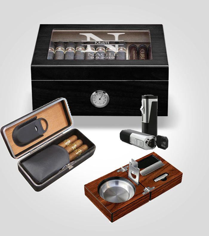 Black Humidor Bundle