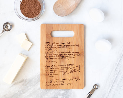 Bamboo Family Recipe Board | Small