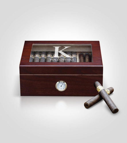 Cherry Humidor | Solid Template