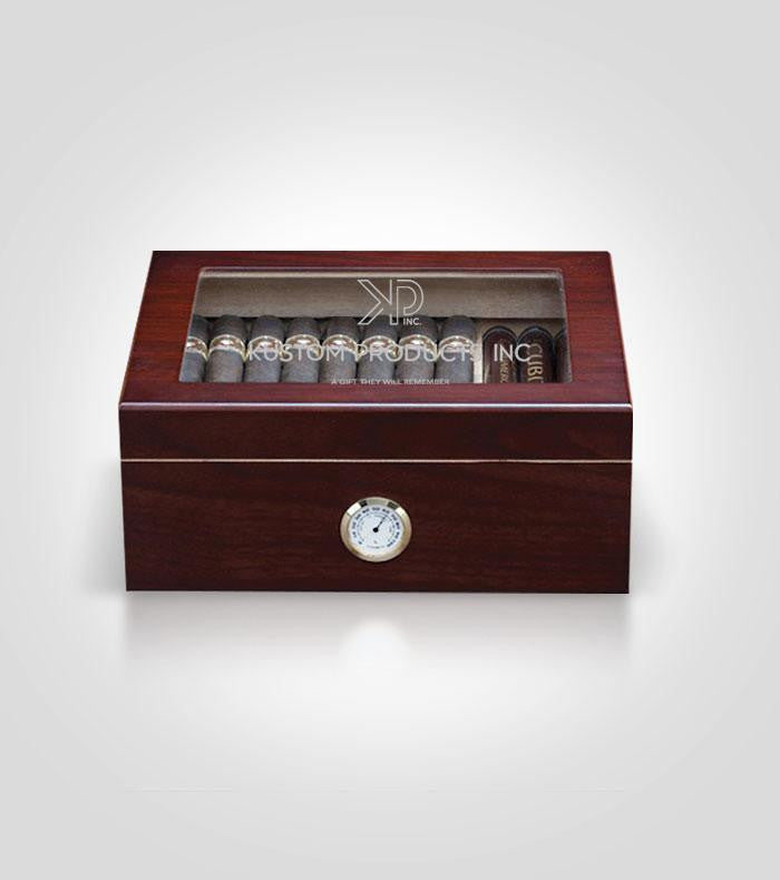 Cherry Humidor | Custom Image