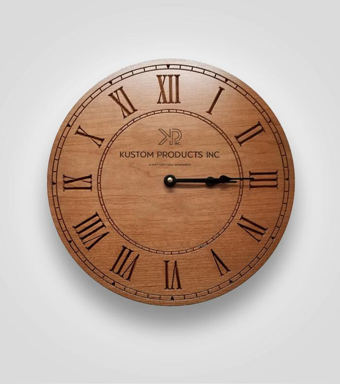 Clock with Roman Numerals | Custom Image