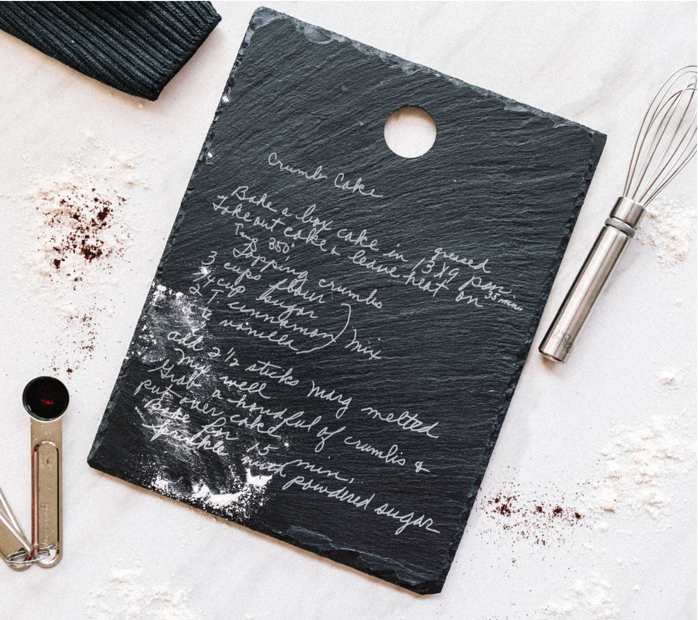 Hanging Slate Recipe Board