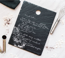 Load image into Gallery viewer, Slate Hanging Recipe Board | Small