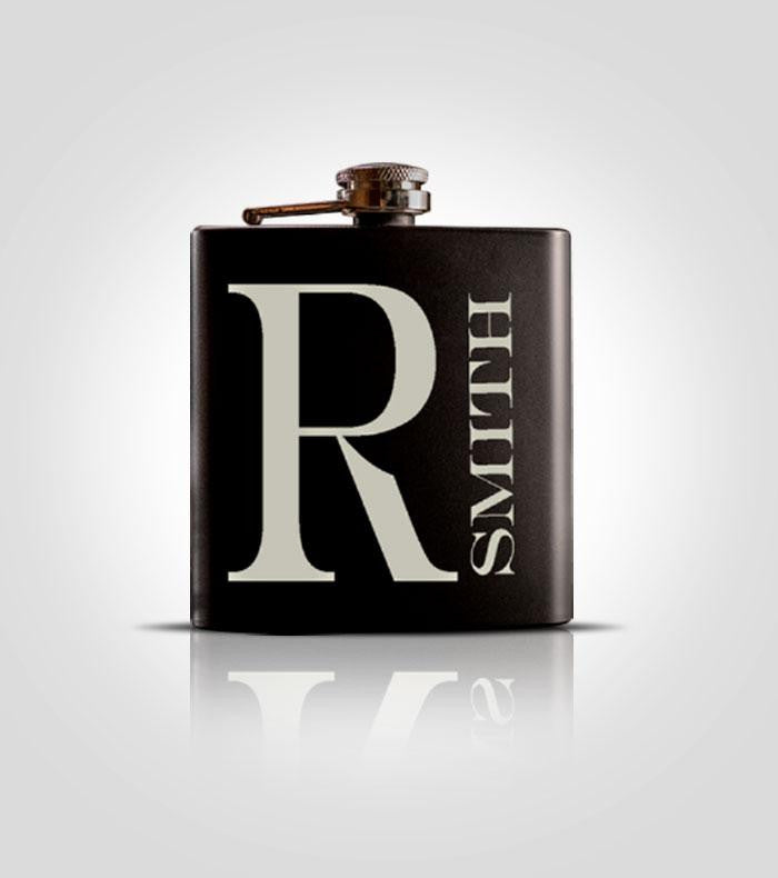 Single Black Flask | M8
