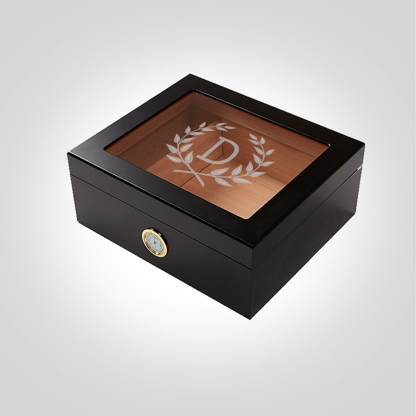 Black Humidor | Wreath