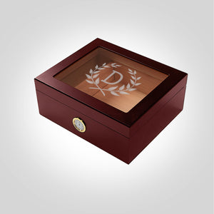Cherry Humidor | Wreath