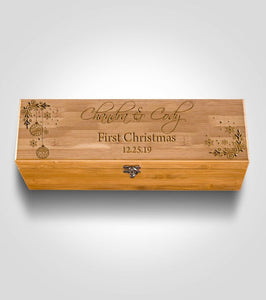 Bamboo Wine Box | Holidays