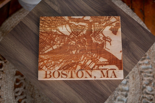 City Map Cutting Board