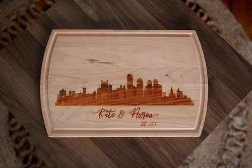 Chef's Cutting Board- City Skyline