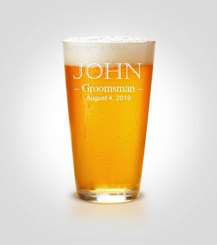 Pint Glass | Groomsman