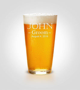 Pint Glass | Groom