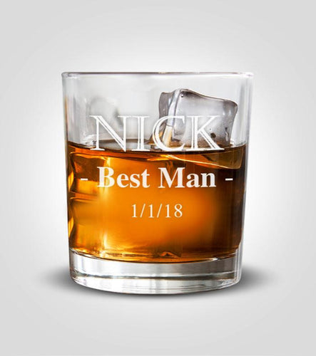Rocks Glass | Best Man