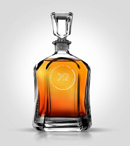 Flat Decanter | Custom Image