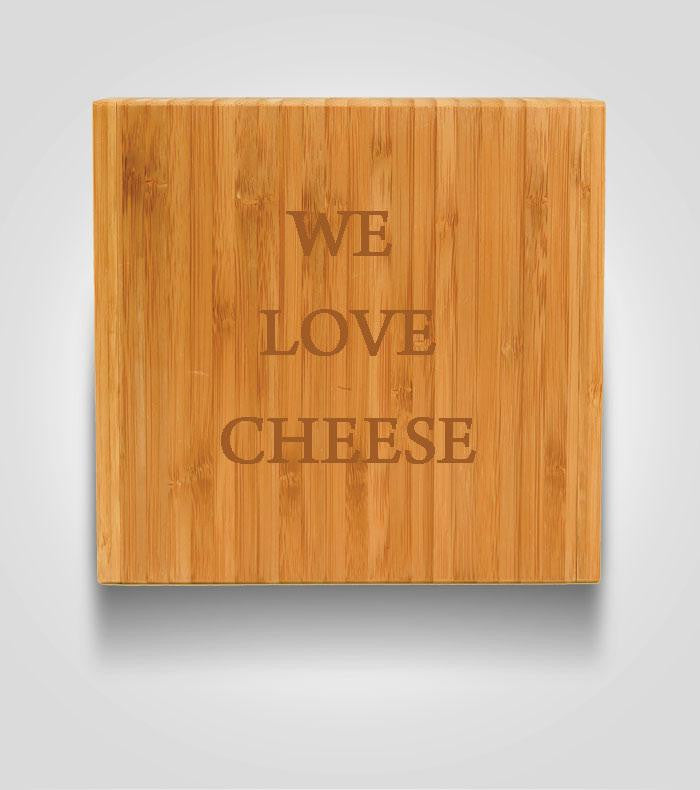 Square Cheese Board |Custom Text
