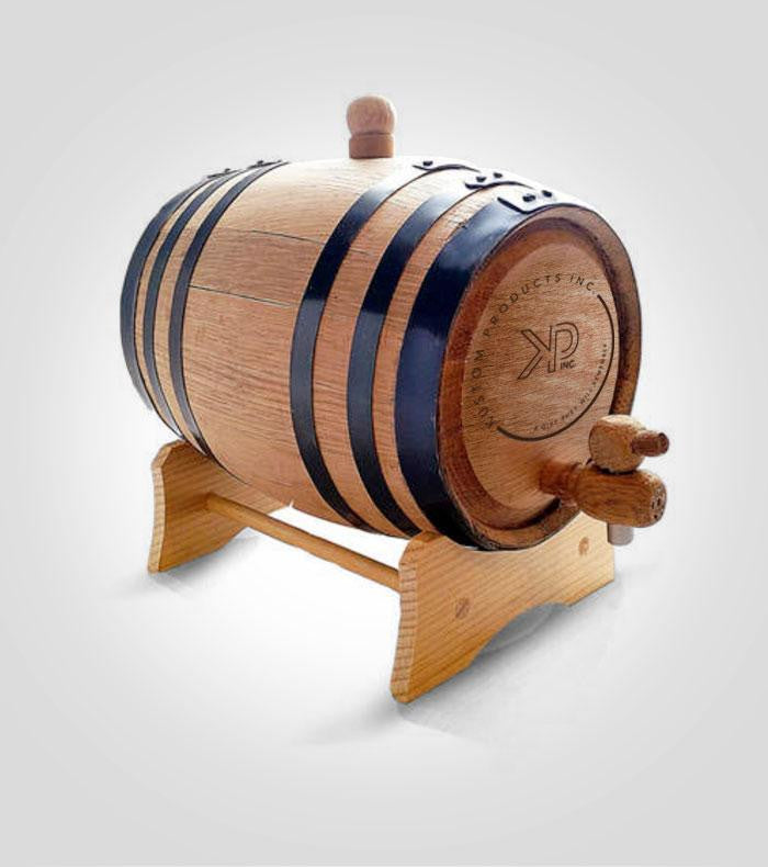 Whiskey Barrel | Custom Image
