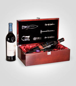 Double Piano Wine Box | Your Text Here