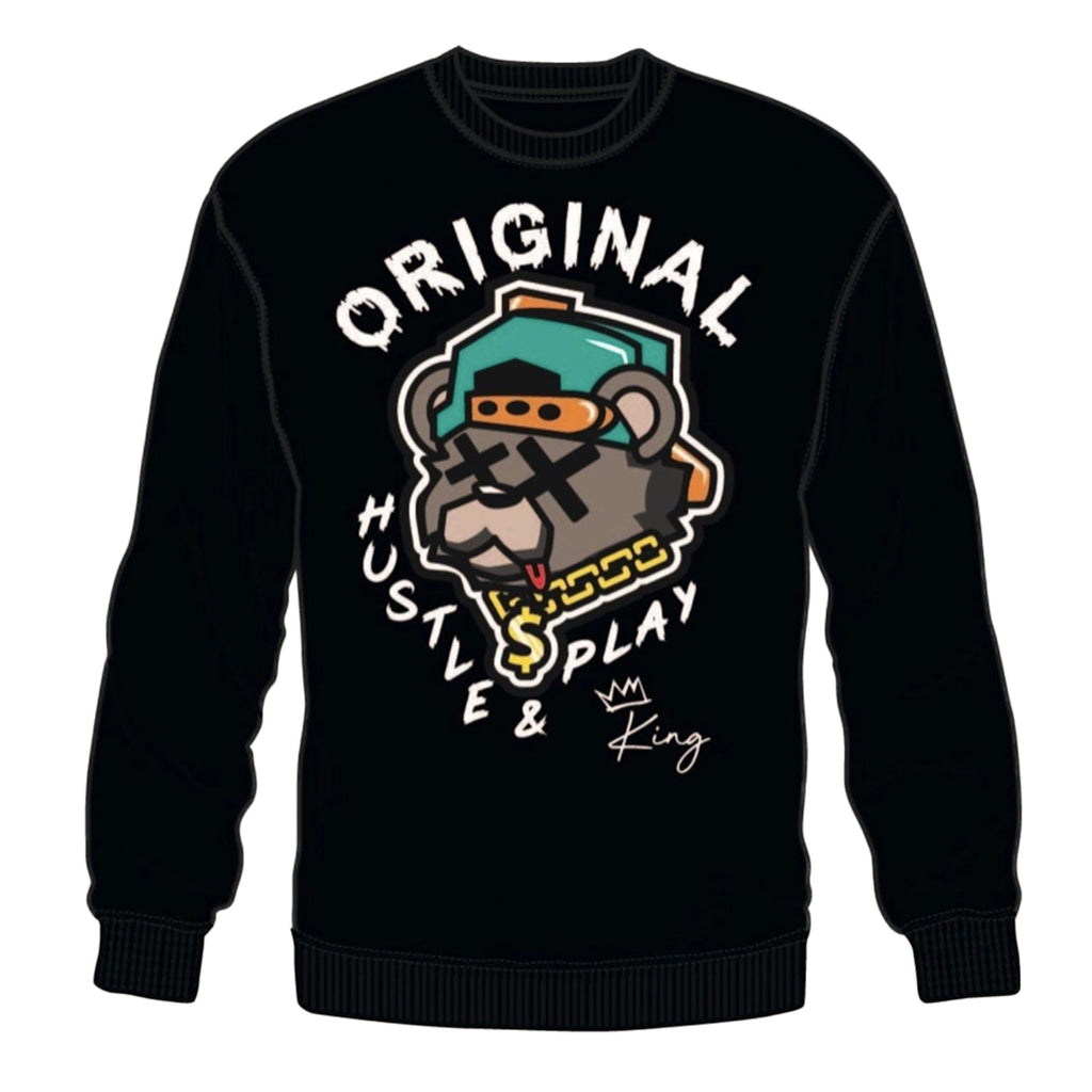 "3 Forty Crewneck Sweatshirt ""Original"" Black"