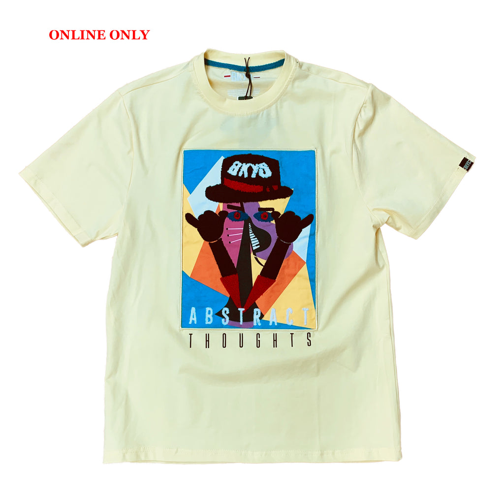 "Black Keys S/S Tee ""Abstract"" Yellow"