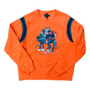 AKOO Crewneck Sweatshirt 791-0321 Orange