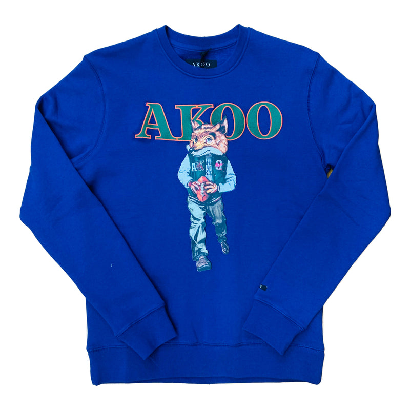 AKOO Crewneck Sweatshirt 791-0330 Royal Blue