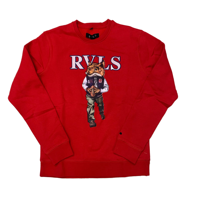 AKOO Crewneck Sweatshirt 791-0330 Red