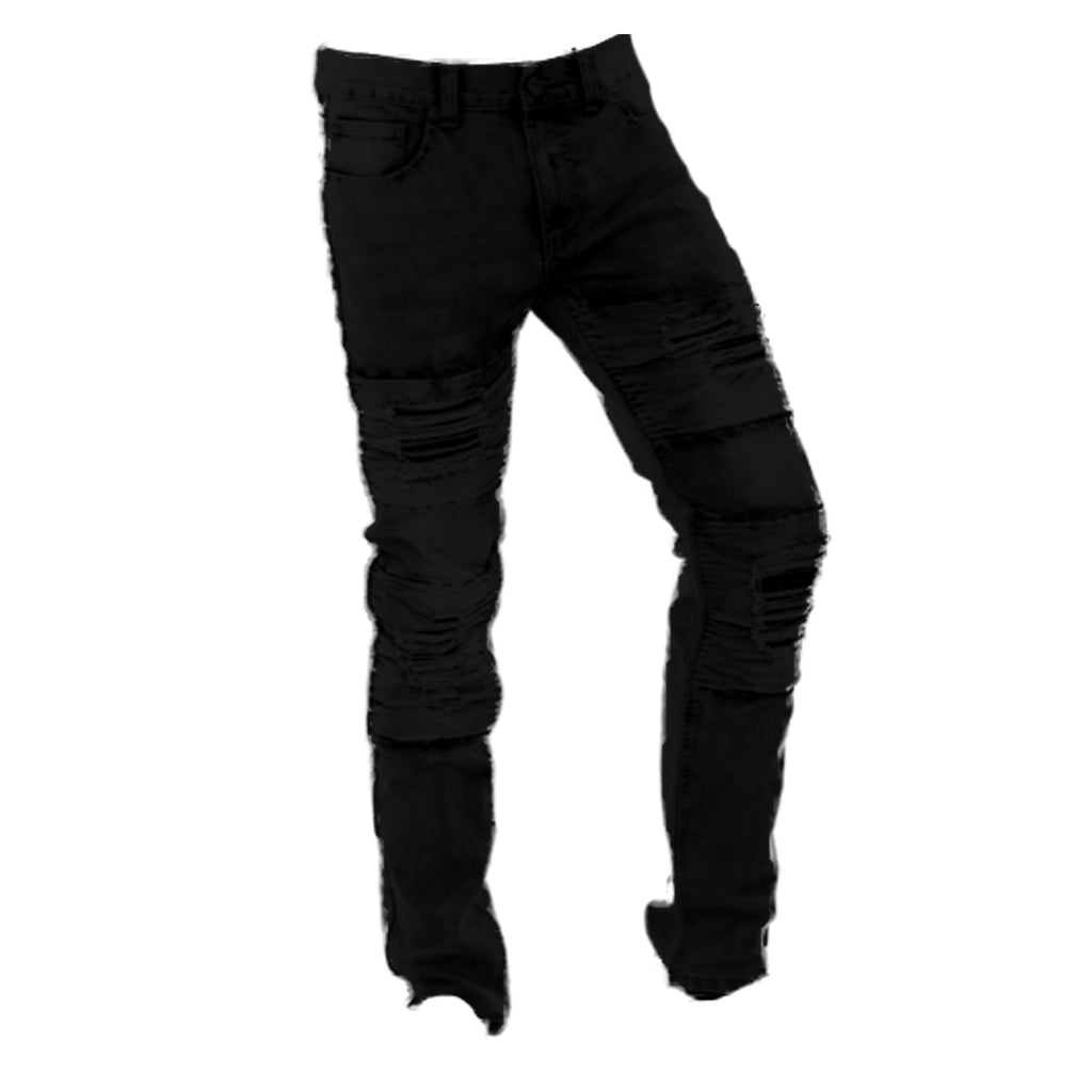 Bleecker & Mercer Denim Jeans P914 Jet Black