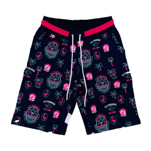 Born Fly Sweat Shorts 1904B3207 Navy