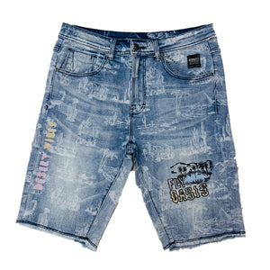 Born Fly Denim Shorts 1905D3282