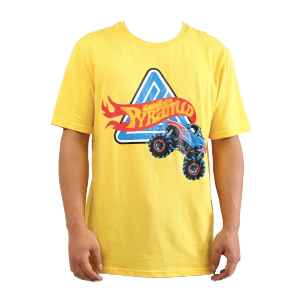 Black Pyramid S/S Tee Y1162050-YLW YELLOW