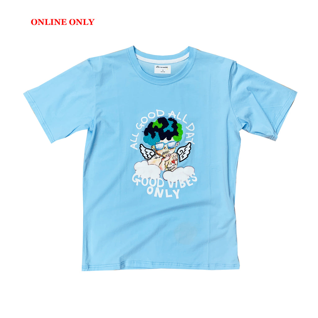 Bear The Beams S/S Tee BTT15 Blue