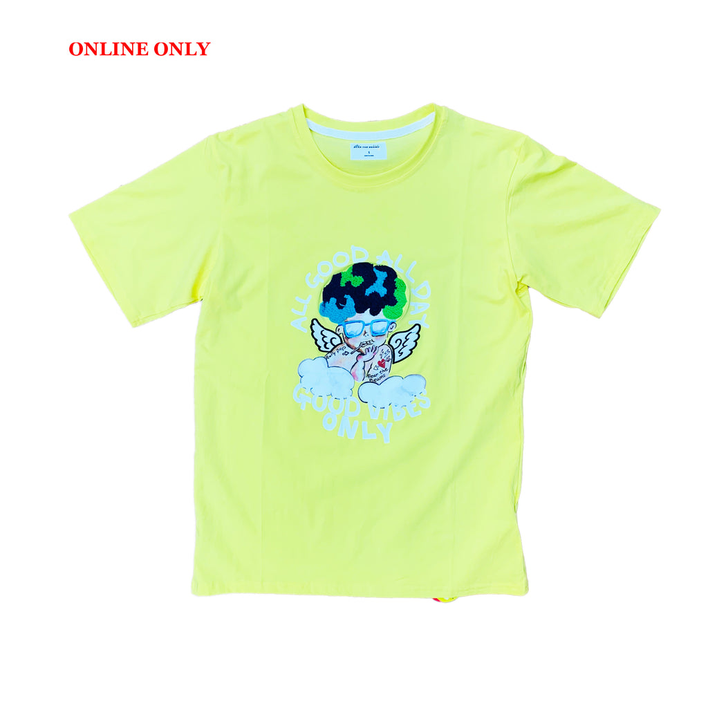 Bear The Beams S/S Tee BTT15 Yellow