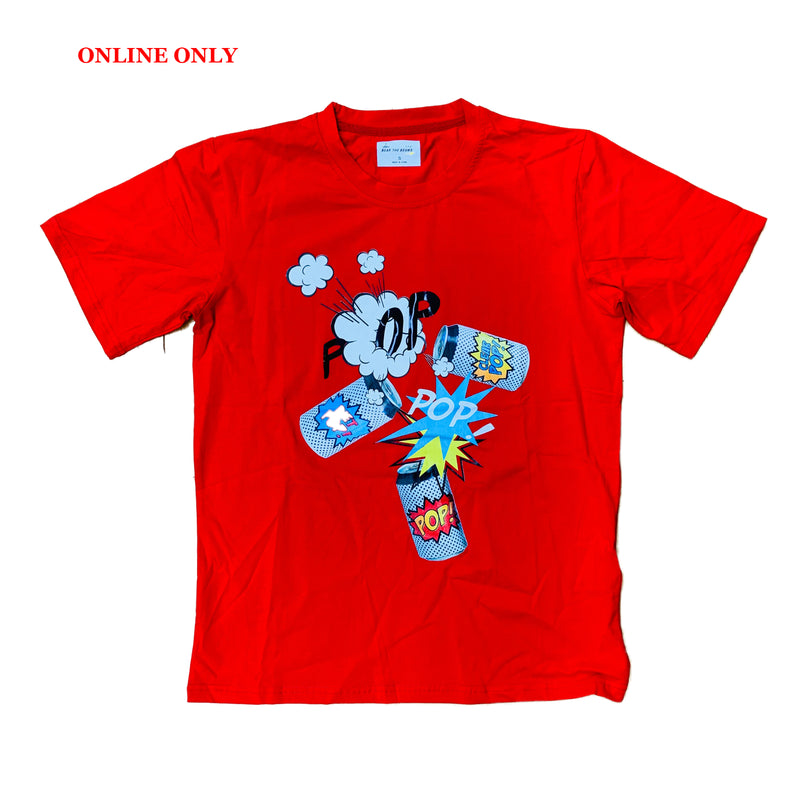 Bear The Beams S/S Tee BTT21 Red